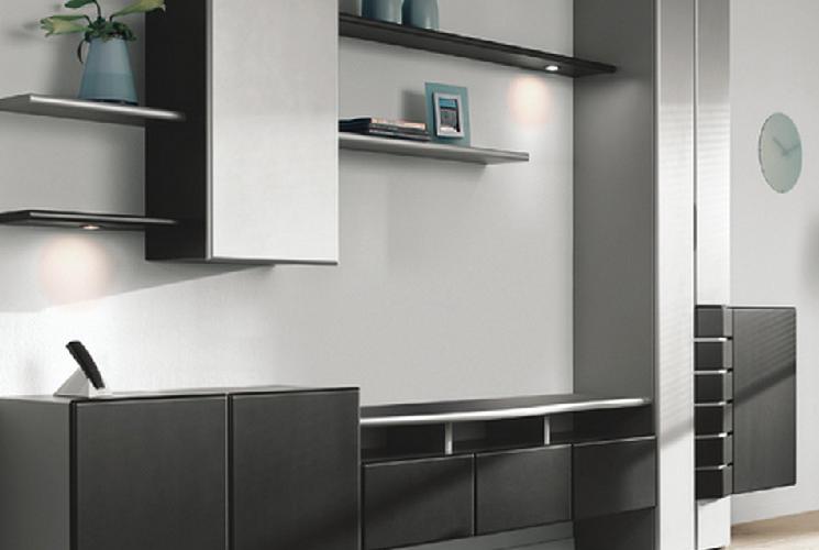 Inrichting huiskamer particulier met Banz Bord systeem